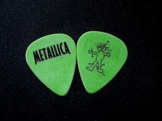 Guitar Pick Metallica 1998 Real Tour Pick James Hetfield Kirk Hammet