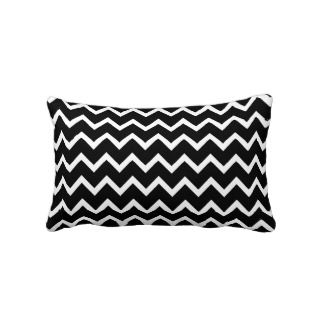 Coral and White Zig Zag Pattern. Pillow