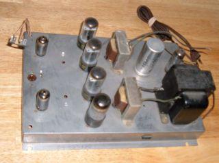 Stromberg Carlson ASR 120 Vintage Stereo Tube Amplifier Amp