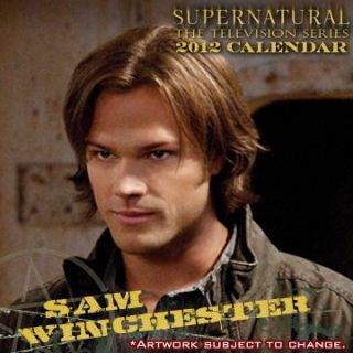 Sam Winchester Jan Dec 2012 Calendar Brand New Jared Padalecki