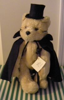 Teddy Roosevelt Bear by Jane Withers Plush Stuffed Teddy Bear 18 1639