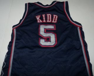 Nike Jason Kidd New Jersey Nets NBA Basketball Swingman Jersey Youth