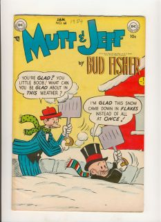 Mutt and Jeff 68 DC Comics Golden Age Bud Fisher