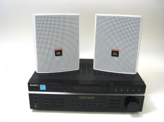 DE197 100 Watt Receiver with JBL Control 25 Outdoor Speakers