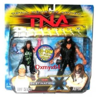 Action Wrestling Destination x Jeff Hardy Abyss 7 Figure Set