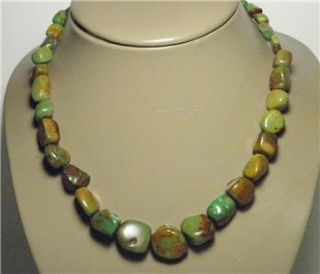 Jay King Mine Finds Turquoise Sterling Silver DTR Jewelry Necklace