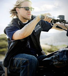 SAMCRO Sunglasses JAX TELLER Dark Frame and Dark Lens Sons of Anarchy