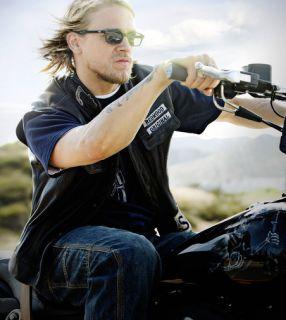 SAMCRO Sunglasses JAX TELLER Dark Frame and Dark Lens Sons of Anarchy