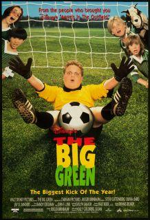 The Big Green 1995 Original U s One Sheet Movie Poster