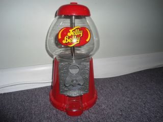 ORIGINAL JELLY BELLY GUM BALL CANDY VENDING MACHINE DISPENSER 11 TAKES