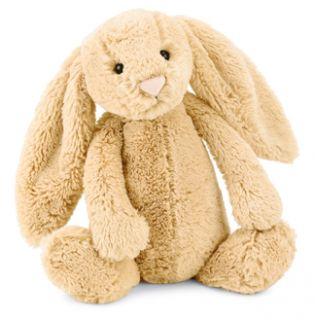 Jellycat Bashful Honey Bunny Rabbit Medium Stuffed Animal Plush New