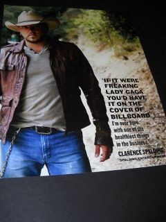 Jason Aldean References Lady Gaga Promo Poster Ad