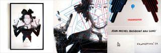 JEAN MICHEL BASQUIAT Silk Screen Print Signed by FRAMEDINK Ltd Ed 0 32