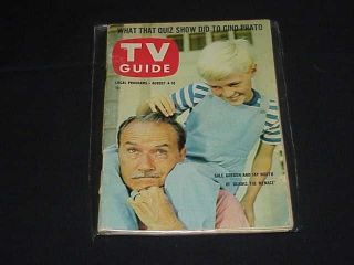 TV Guide 8 4 1962 Jay North Dennis The Menace 118