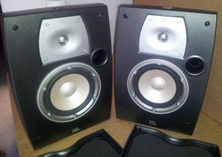 JBL N26 Northridge Series Bookshelf Speakers Pair Dark Gray