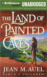 Land of Painted Caves Jean Auel Unab Audiobook New CD 0517580519