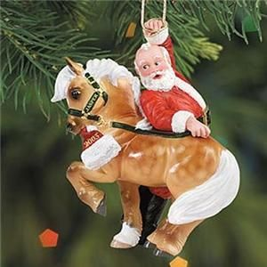 Breyer Christmas Ornament Santas Jaspers Hijinks Horse Ornament New