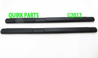 2011 2013 Jeep Grand Cherokee Black Side Steps Running Boards Nerf