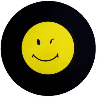 Winking Smiley Jeep Spare Tire Cover Trailer SUVs RV