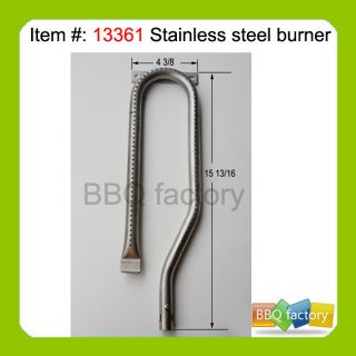Jennair Replacement Gas Grill Stainless Burner 13361