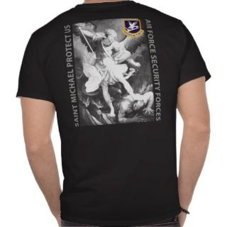 USAF   Security Forces   St Michael Shirts