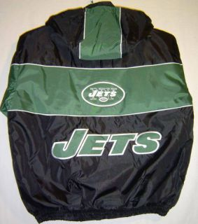 New York Jets NFL Jacket Jeff Hamilton XLarge