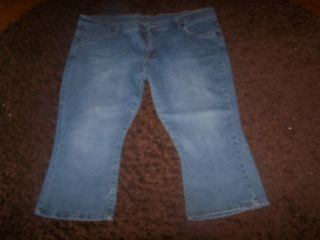Womens Bitten by Sarah Jessica Parker Jean Shorts Size 18 M