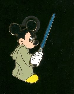 Disney Pin 45944 Mickey Mouse Jedi Mickey Star Wars