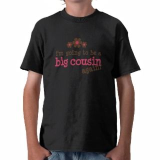 Pink/Brown Flower Big Cousin T shirt
