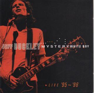 Jeff Buckley Mystery White Boy Live 95 96 2 CDs