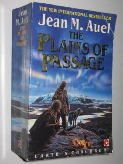 The Plains of Passage by Jean Auel 1991 Paperback Book