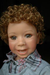 Masterpiece Jeremy Monika Levenig 43 Full Vinyl Ball Jointed Doll in