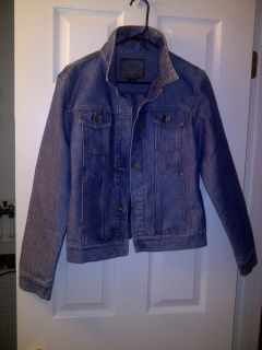 Gorgeous Jean Jacket by Guess Jeans Sz Large L Cotton Poly WOW