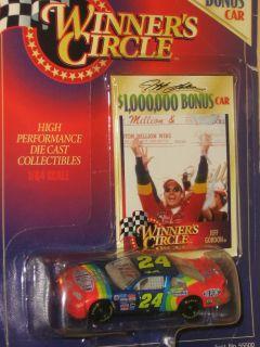 Winner Circle NASCAR Jeff Gordon Lifetime Series Bonus
