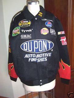 Jeff Hamilton Race Collection Black Jacket NASCAR