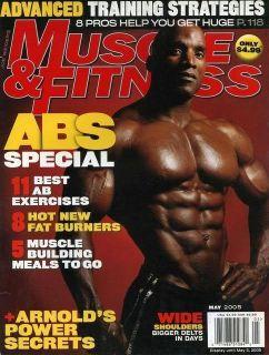Muscle Fitness Magazine 5 05 Jennifer Nicole Lee Kris