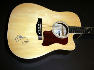 Wilco Jeff Tweedy Signed Autographed Acoustic Guitar