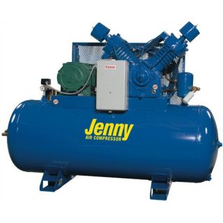 Jenny Products 120 Gallon 25 HP Two Stage Electric Stationary Air