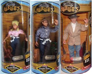 Beverly Hillbillies Ellie Mae Jed Jethro Clampett 9 Action Figures