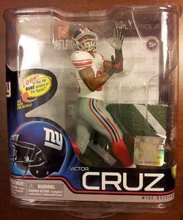 Victor Cruz GIANTS McFarlane NFL Series 31 Rare Version Variant Bronze