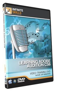 Infiniteskills Adobe Audition CS6 Tutorial Video Training DVD ROM 12