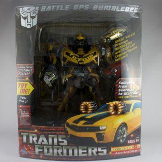 Transformers BATTLE OPS Bumblebee rare Costco exclusive   Hasbro  MISB
