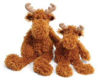 Jellycat Monty Moose Small Plush Stuffed Animal New