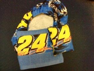 Jeff Gordon NASCAR Fabric Bowling Shoe Covers Towel Bag