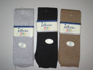 Jefferies Over The Knee High Socks Tights Leggings Sparkly Silver Gold