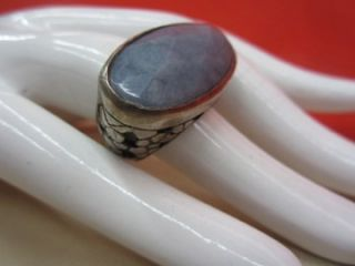 190 New Chan Luu Exquisite Chan Luu Light Blue Jade Ring Ornate