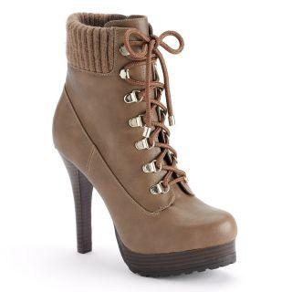 Brand New Jennifer Lopez Platform Ankle Boots Women
