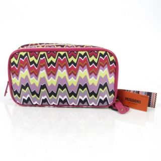 Missoni Target Cosmetic Box Makeup Bag Passione Travel Zipper Pouch