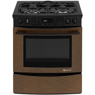 Jenn Air 30 JDS8850CDR Oiled Bronze Slide in Dual Fuel Convection