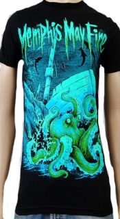 Memphis May Fire Tragedy at Sea Soft Fit T Shirt New s M L XL